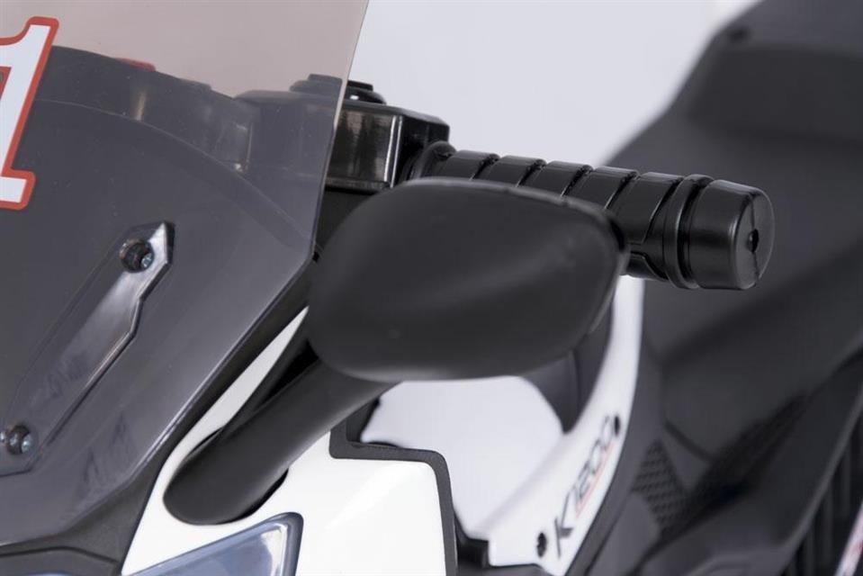 motor dla dzieci akumulator biały