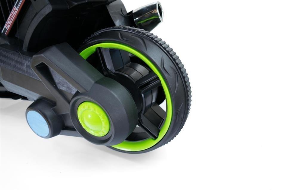 motorek dla dzieci elektryczny zielony